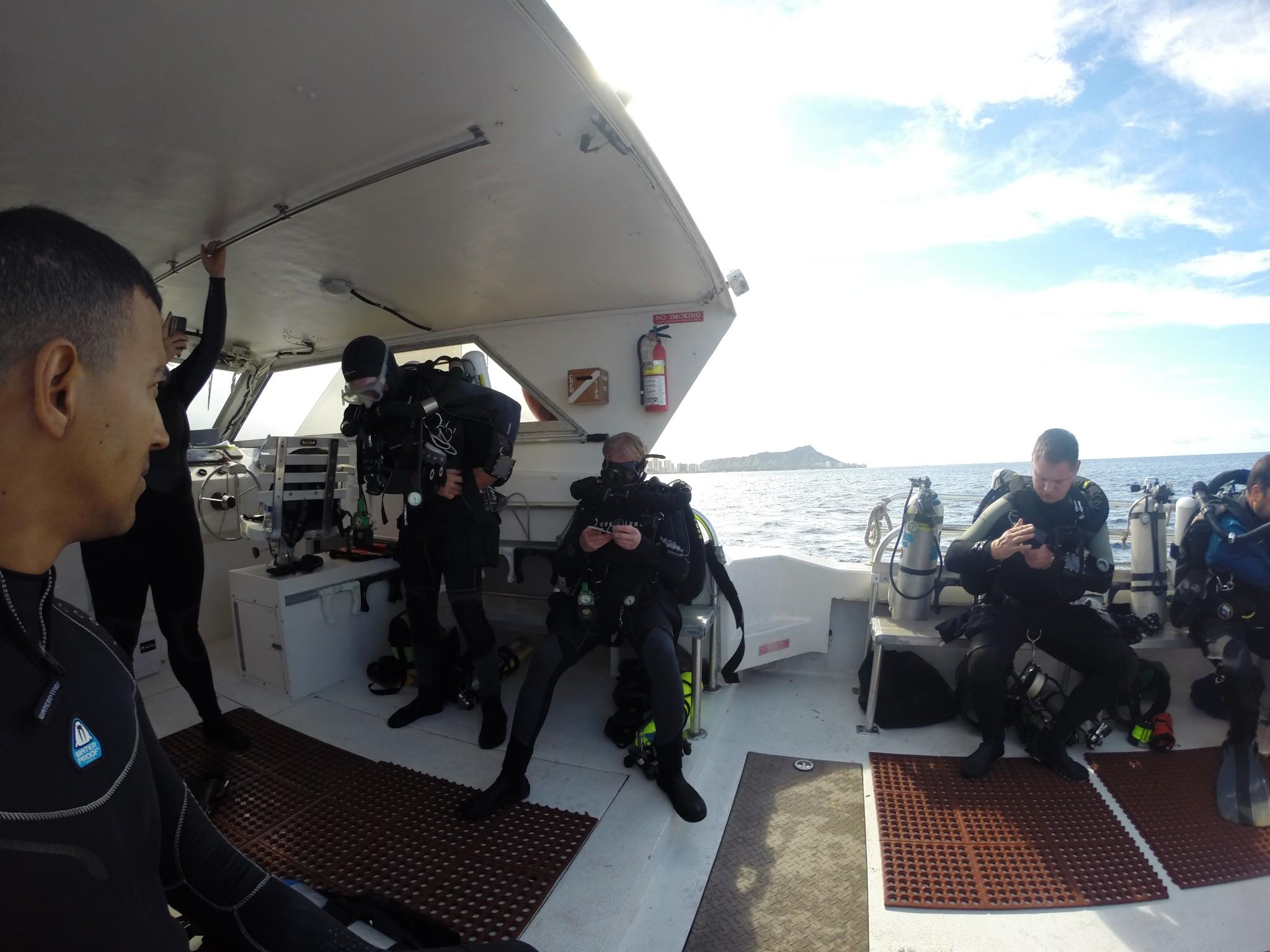 hawaii scuba university technical diving program closed circuit