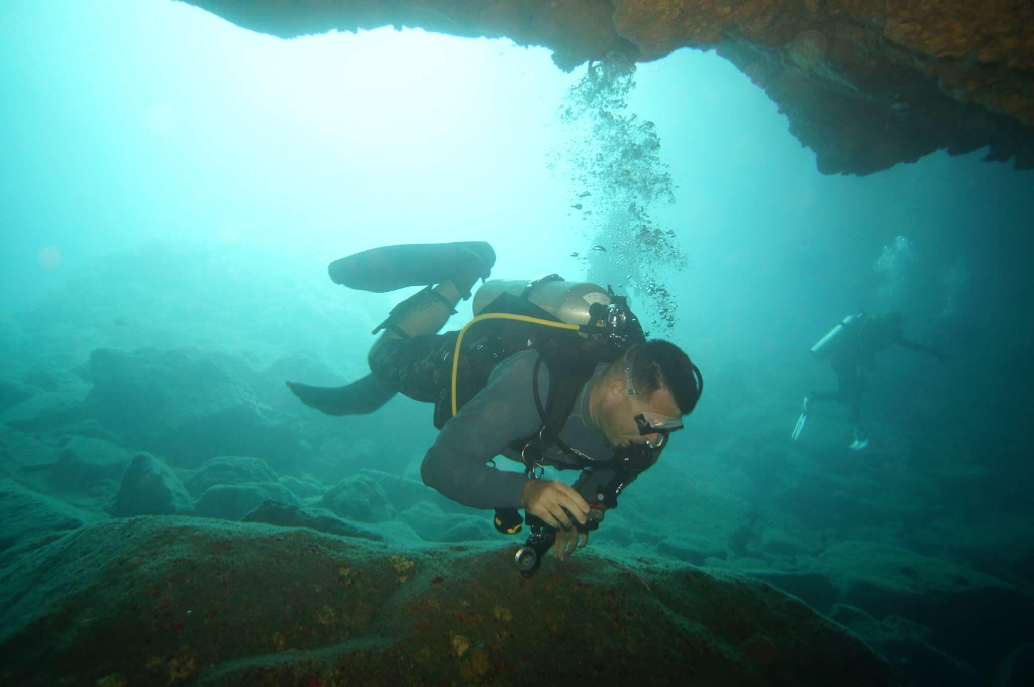 CAVE DIVING! 16 January