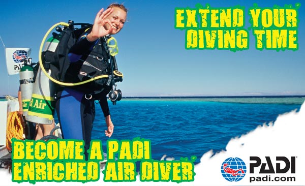 Nitrox Specialty - All Month -$99 - Island Divers Hawaii